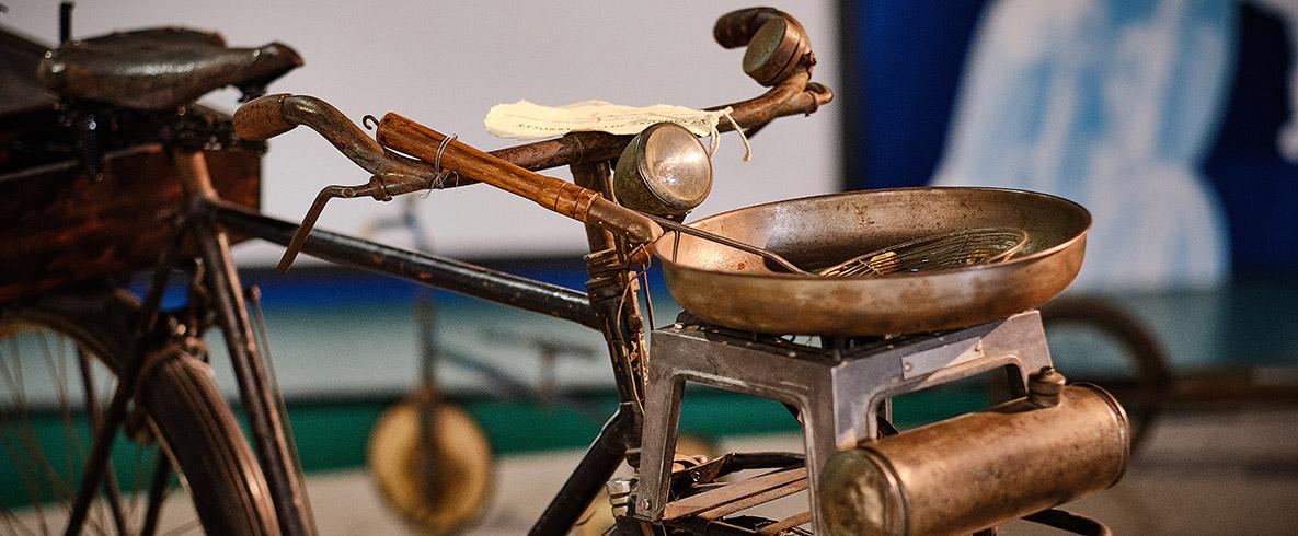 Bici antica in ferro